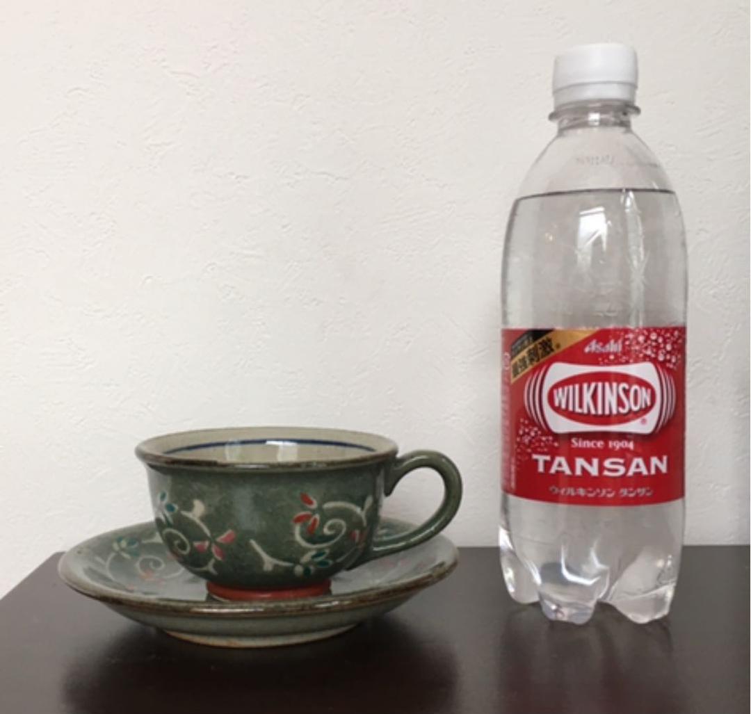 Tea cup アイドル 水中