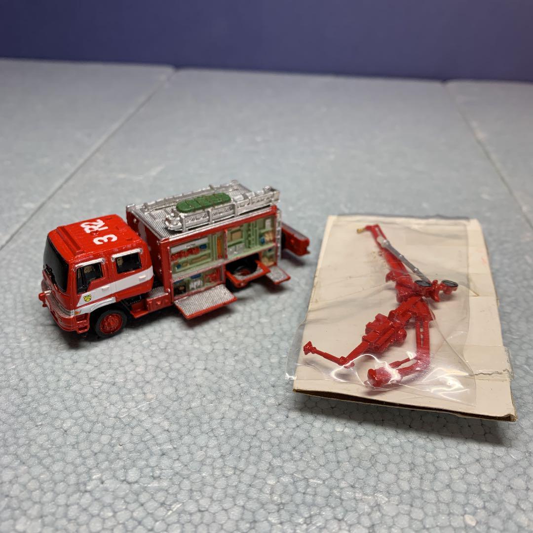 メルカリ レッカー付救助車 緊急救助車両コレクション Rescue119 Part 2 フィギュア 2 0 中古や未使用のフリマ