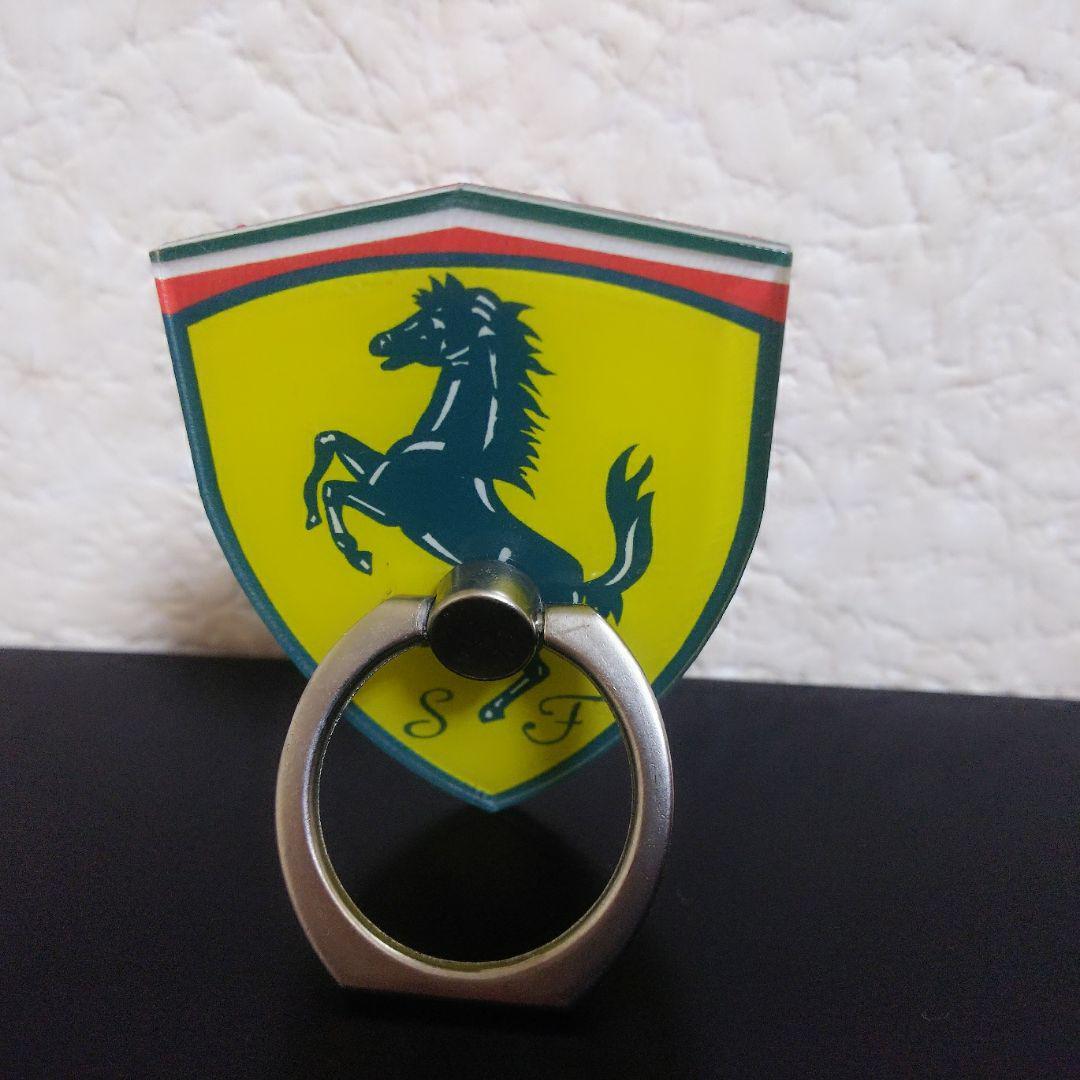 メルカリ スマホリング バンカーリング フェラーリ スマホアクセサリー 599 中古や未使用のフリマ