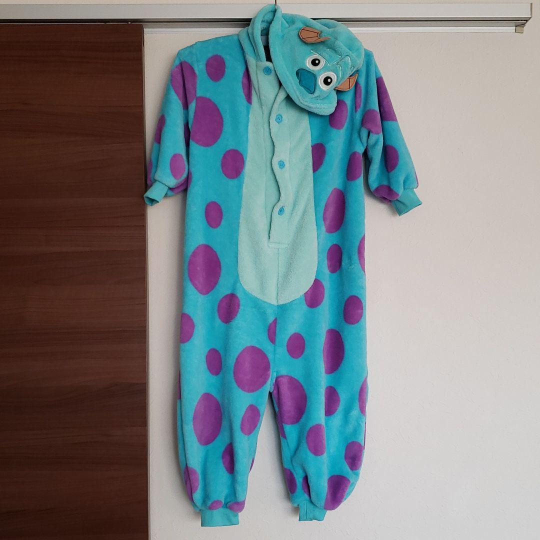 メルカリ 130cm モンスターズ インク 着ぐるみパジャマ 1 900 中古や未使用のフリマ