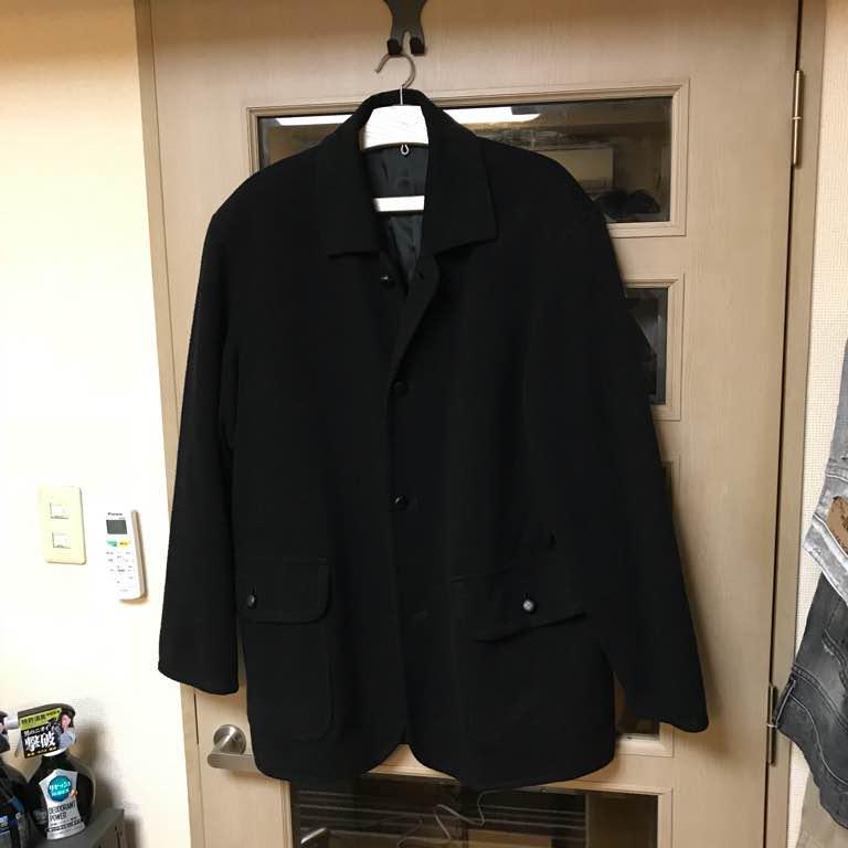 size 40 19570 c2718 ヒカル様専用 ディオールのメンズコート ブラック(¥4,800) - メルカリ スマホでかんたん フリマアプリ