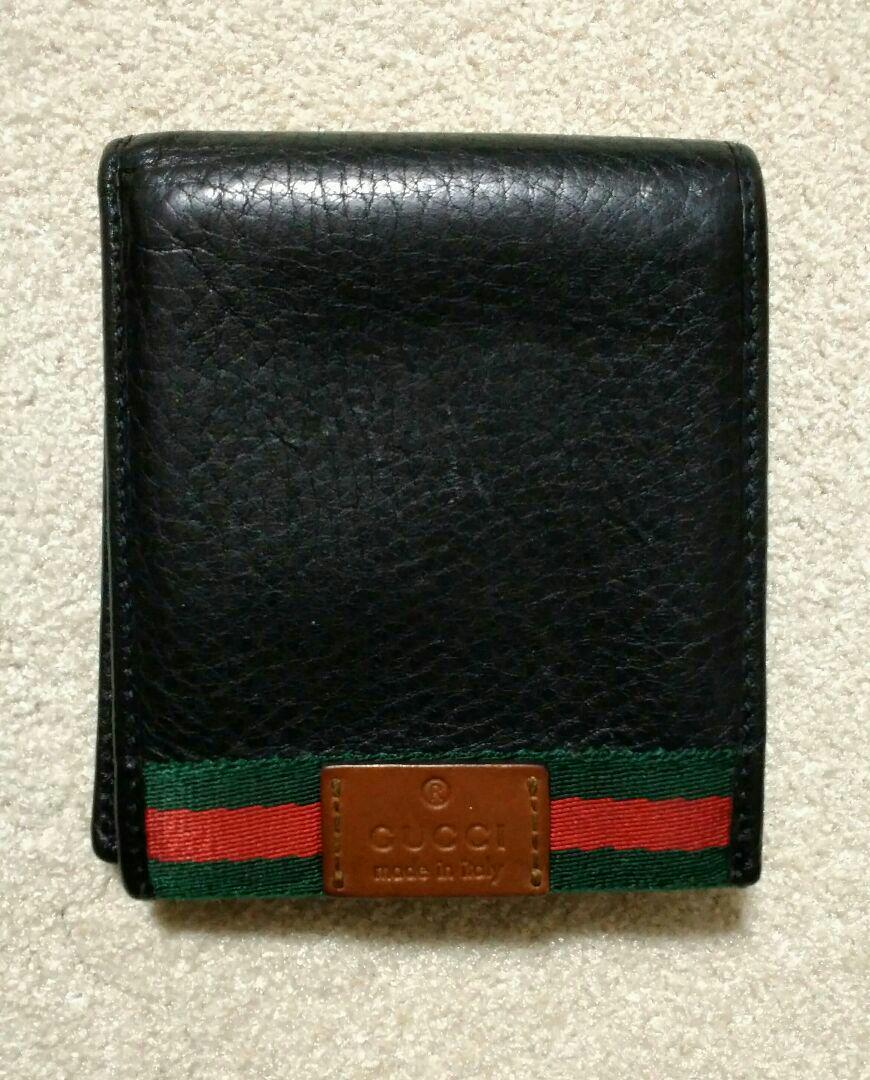 1cffcf7e8aa0 メルカリ - GUCCI メンズ財布 二つ折り財布 【グッチ】 (¥4,900) 中古や ...
