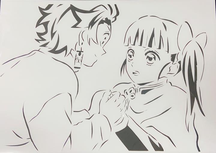 鬼滅の刃カナヲ炭治郎