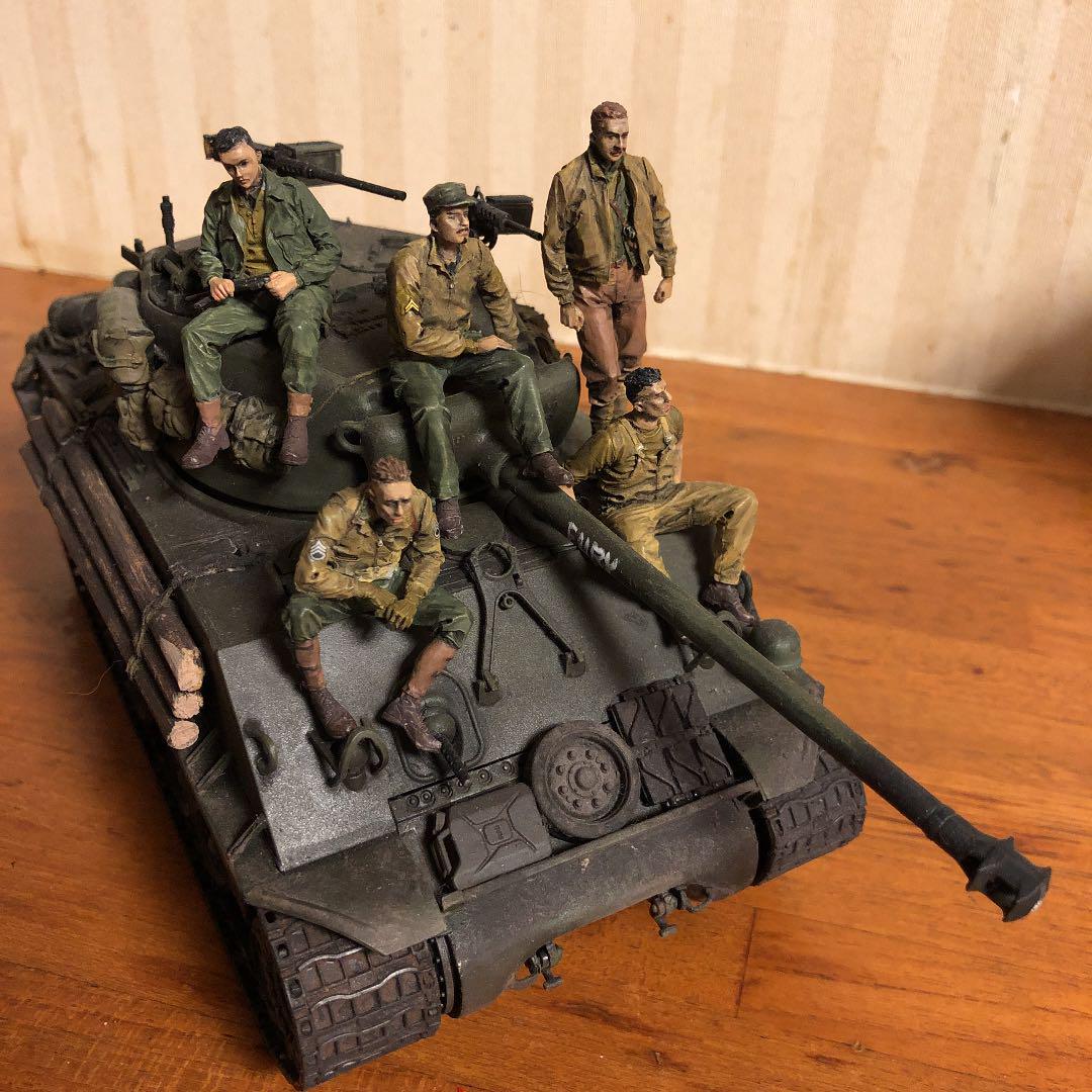 Furia 1 35 M 4 3 e 8 Tanque Sherman fácil ocho