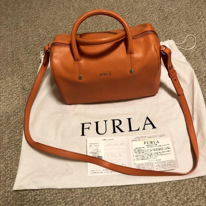303d5f571dff メルカリ - FURLA フルラ アリッサ ALISSA ショルダーバッグ ボストン ...