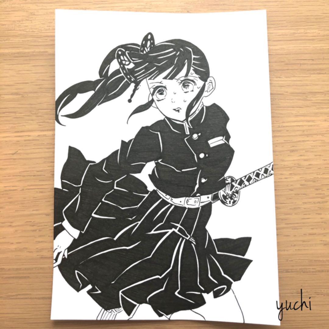 きめつのやいばカナヲ イラスト