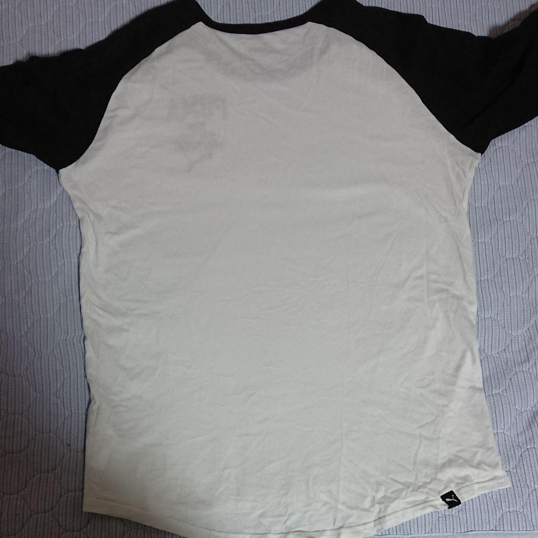 Puma Style Athletic Baseball Mens Top Quarter Sleeve Tee White 834705 02 M16