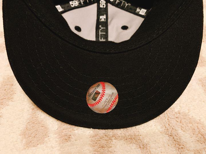 6ca02bf7d55b7 メルカリ - 美品 ニューエラ ベビー キャップ LA 59fifty my1st 【帽子 ...