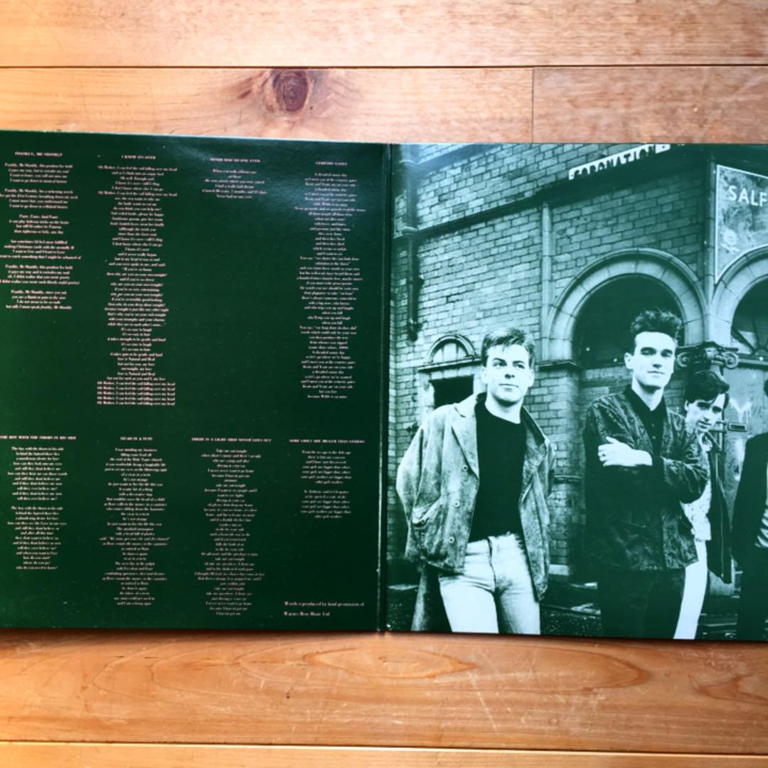 THE SMITHS VINYL STICKER QUEEN IS DEAD RECORD COVER BRITISH MORRISSEY NORTHERN