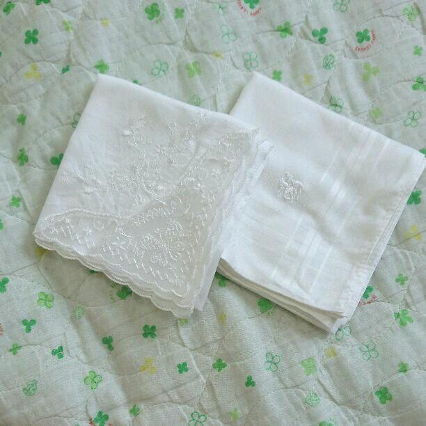 新郎新婦 結婚式 白ハンカチ(¥450) , メルカリ スマホでかんたん フリマアプリ