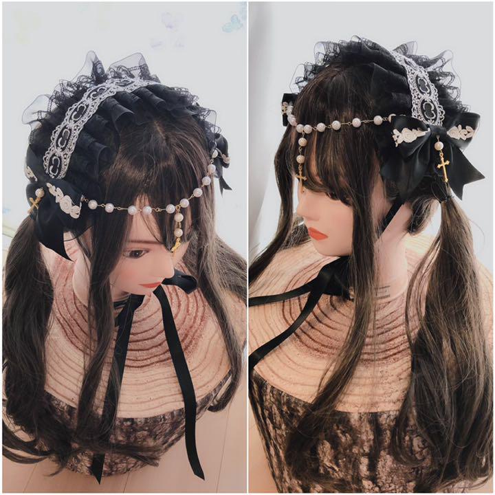 聖なる祈り\u2026ゴスロリ十字架ヘッドドレス(¥2,500) , メルカリ スマホでかんたん フリマアプリ