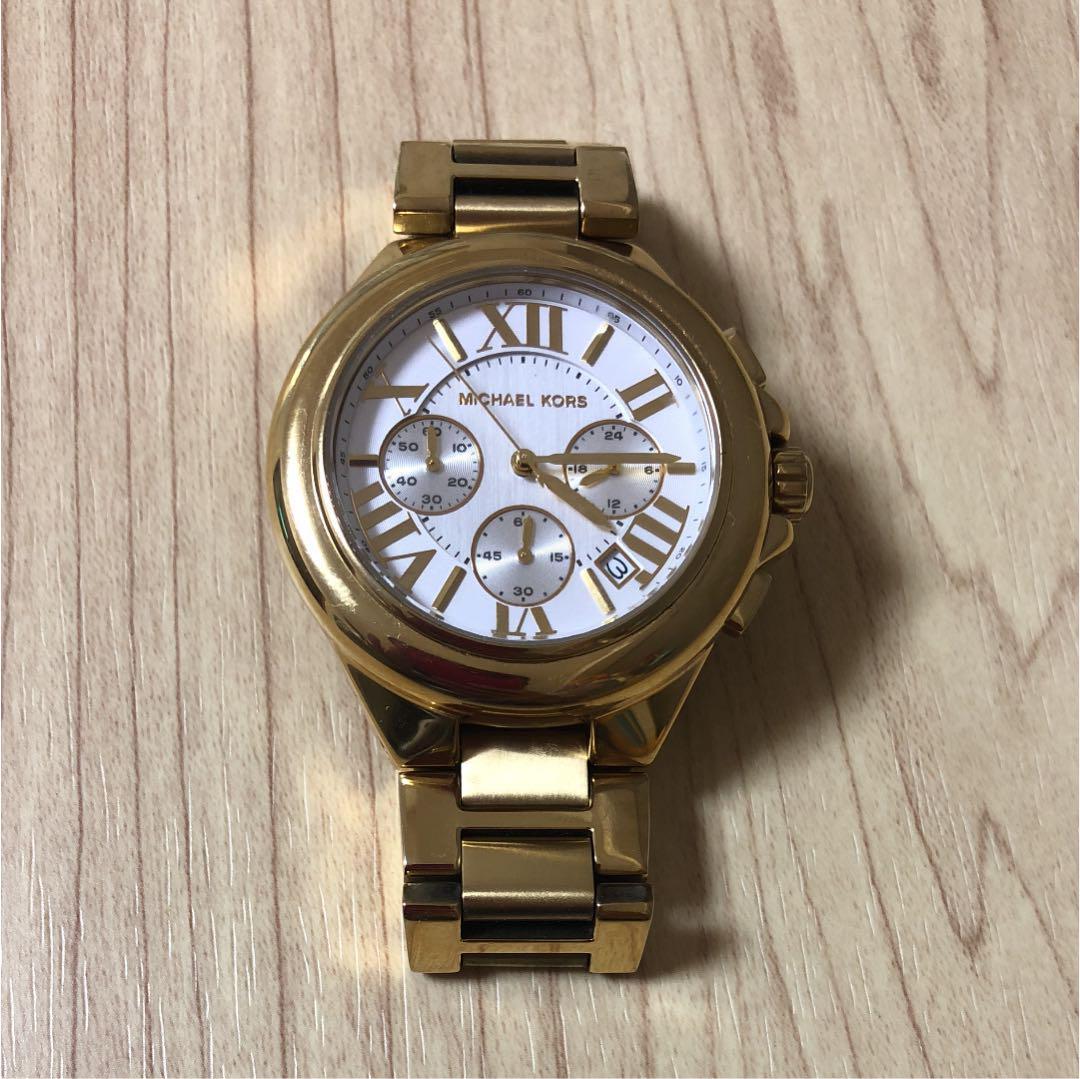 b75e61499466 メルカリ - MICHAEL KORS 腕時計 マイケルコース 【腕時計(アナログ ...