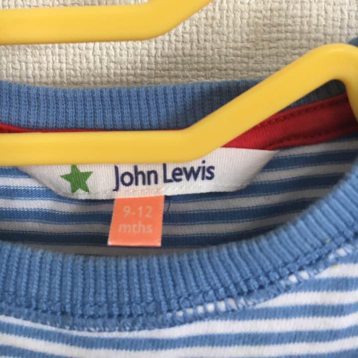 6874a793a0715 メルカリ - ♡John Lewis ジョンルイス ベビー ロンT  トップス  (¥650 ...