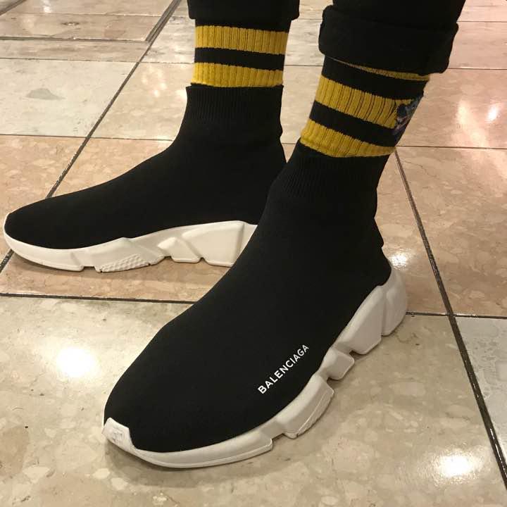 sports shoes 63c21 63884 GUCCI ソックス 靴下 ウルフ 24-27 黒(¥9,800) - メルカリ スマホでかんたん フリマアプリ