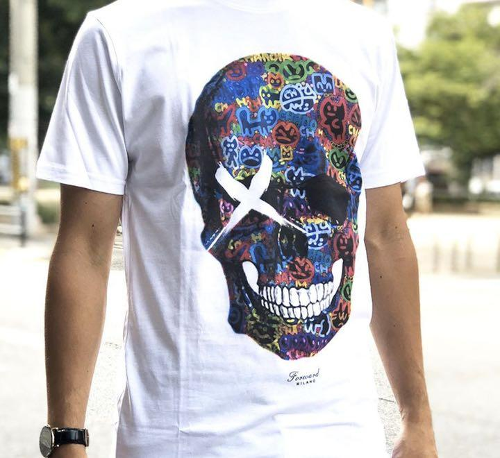 Graffiti Skull t-shirt