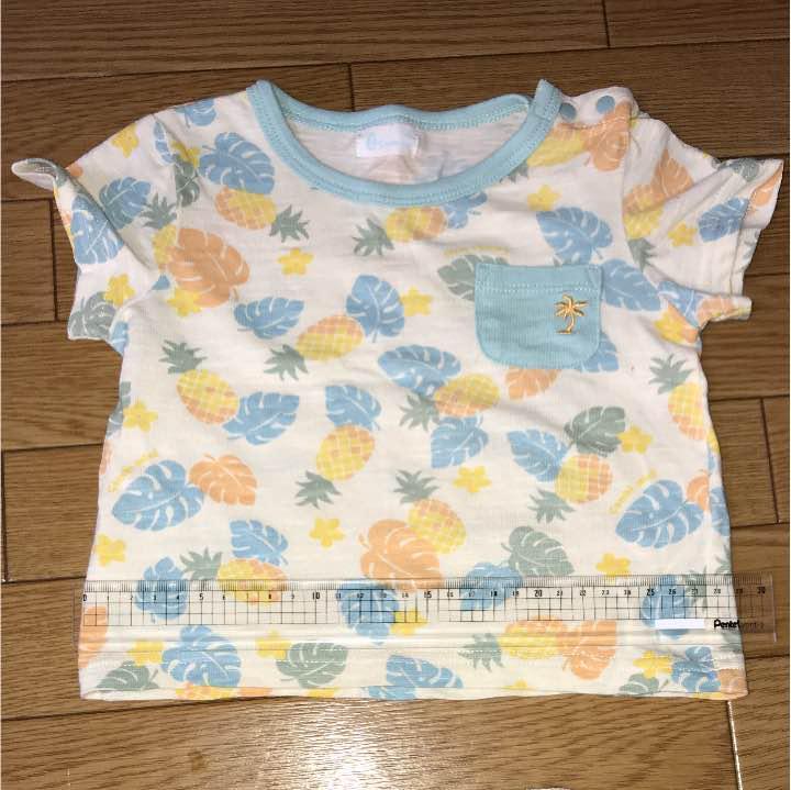 f2498eed7a1 メルカリ - Tシャツ コンビミニ パイナップル 【トップス】 (¥300) 中古 ...