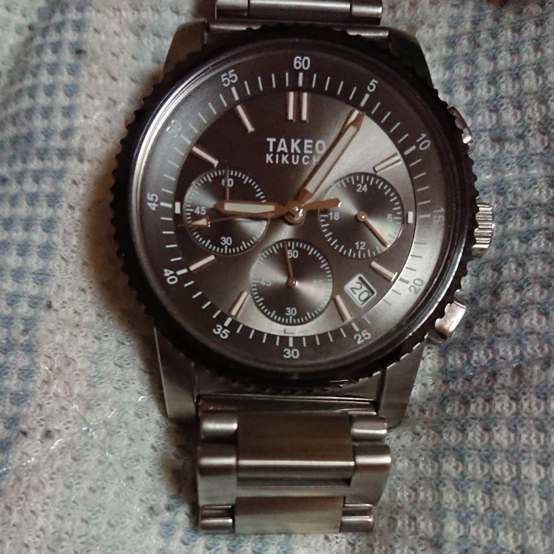 cheap for discount 07775 ad078 タケオキクチ腕時計