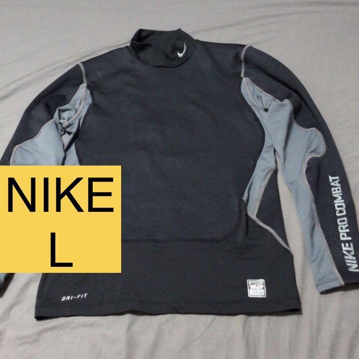 037397aa177 メルカリ - NIKE ナイキ プロコンバット ロングスリーブ L 【Tシャツ ...