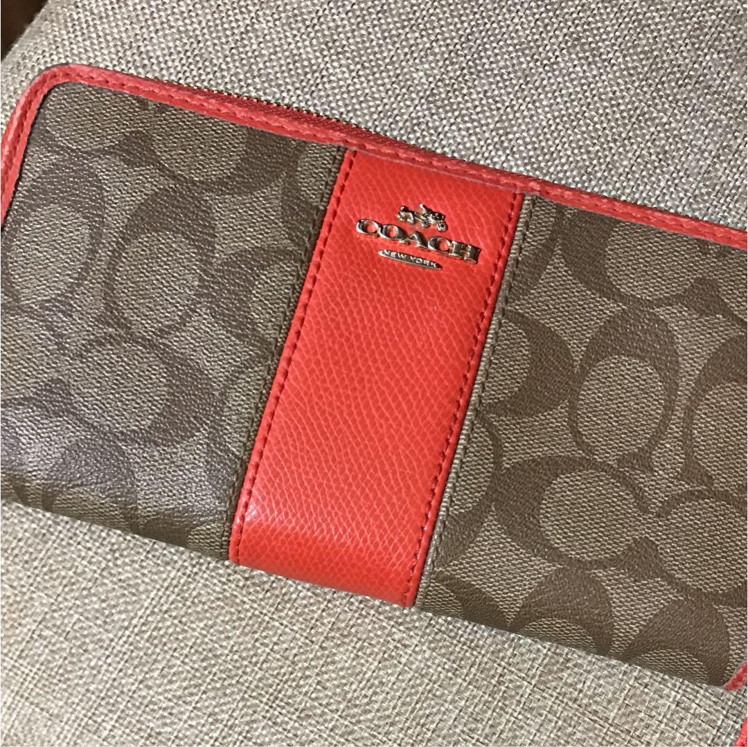 quality design ce236 4c1cb COACH コーチ 長財布 中古品(¥1,500) - メルカリ スマホでかんたん フリマアプリ