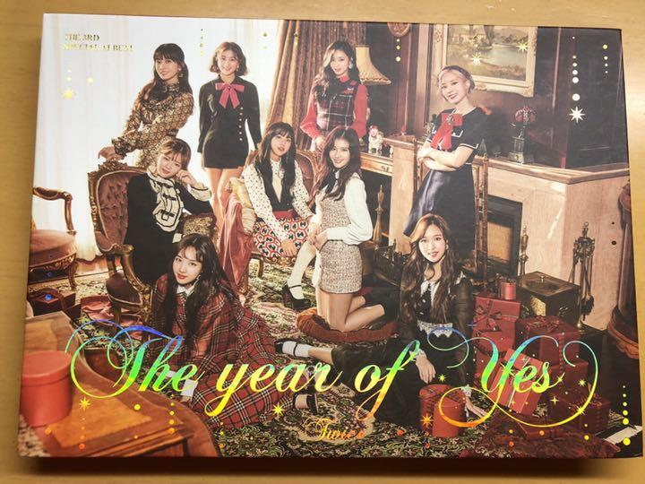 TWICE The year of yes CD