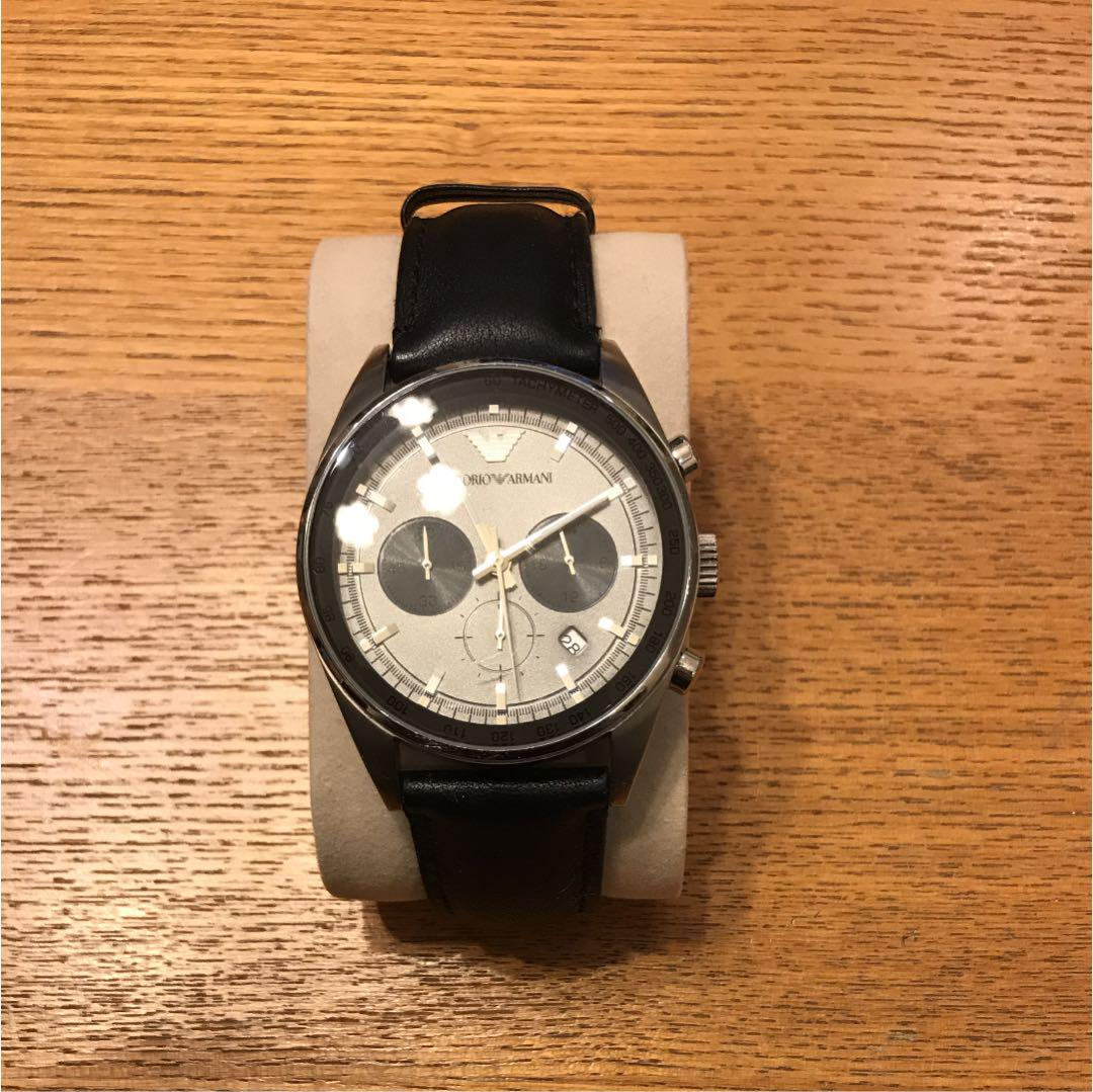 info for 49e63 6a553 エンポリオアルマーニ 腕時計 革ベルト(¥7,500) - メルカリ スマホでかんたん フリマアプリ