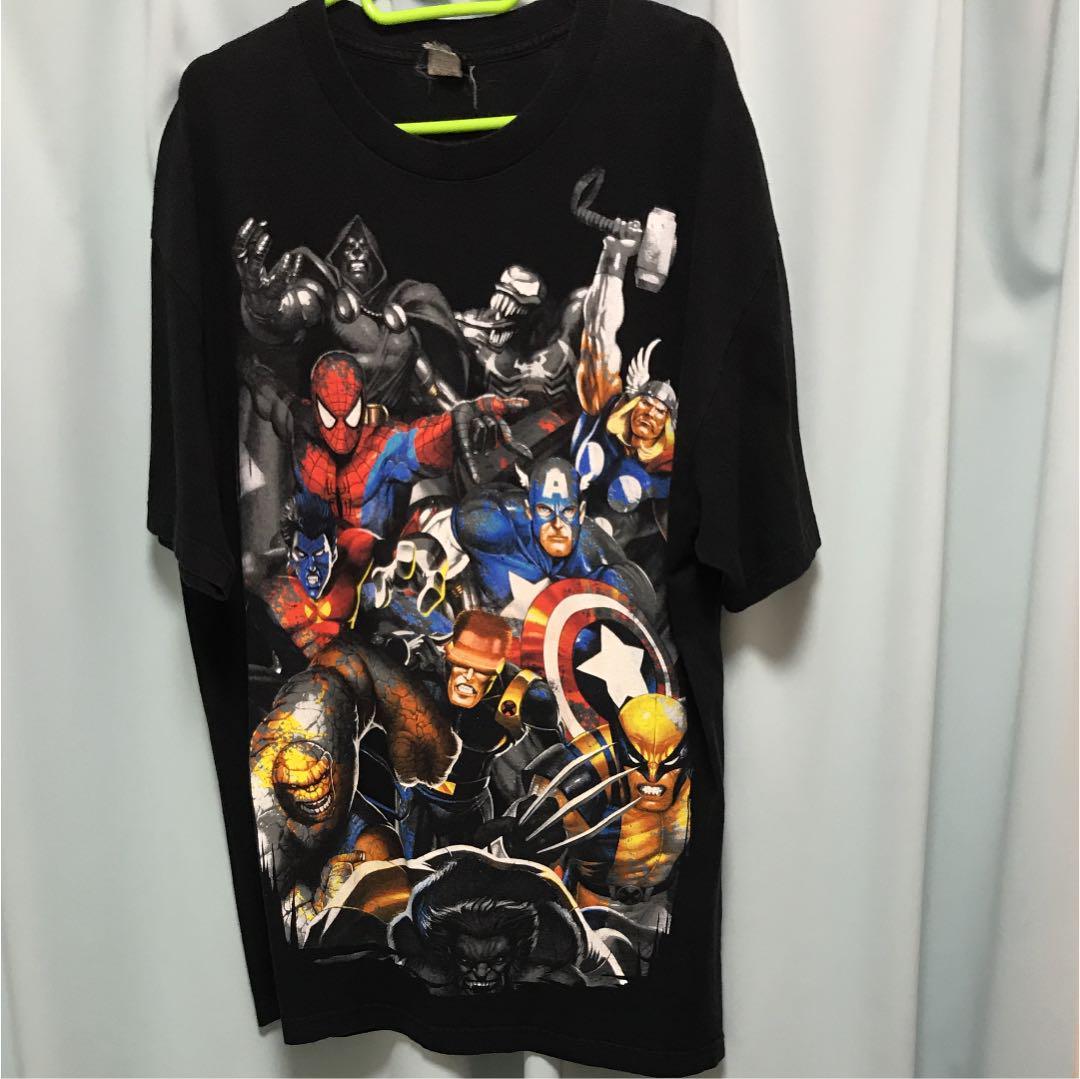 峰不二子様専用marvel キャラクターtシャツ 90s3500 メルカリ スマホでかんたん フリマアプリ
