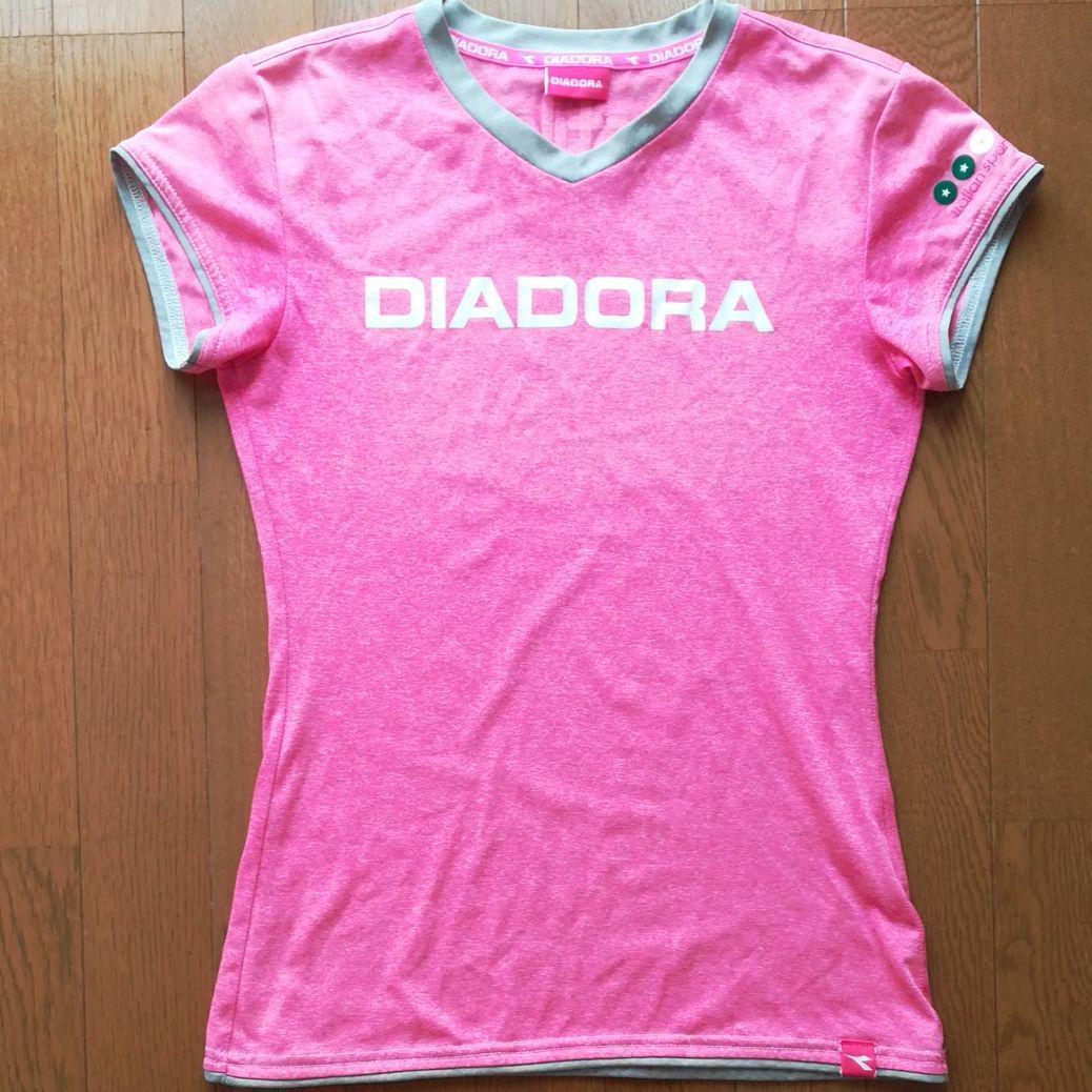 a2a08579902ea メルカリ - DIADORA テニスTシャツ L 【ウェア】 (¥480) 中古や未使用の ...