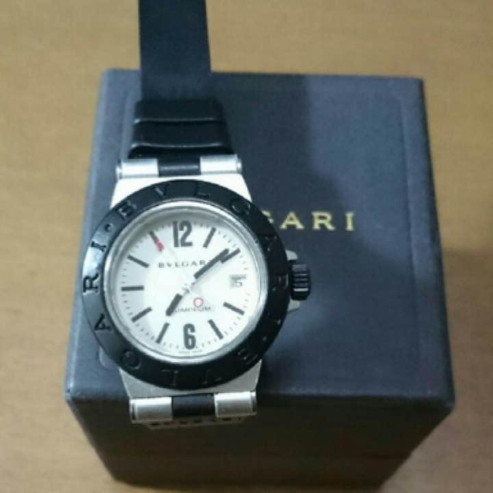 san francisco db5b2 277bf 腕時計 ブルガリ アルミニウム(¥13,800) - メルカリ スマホでかんたん フリマアプリ