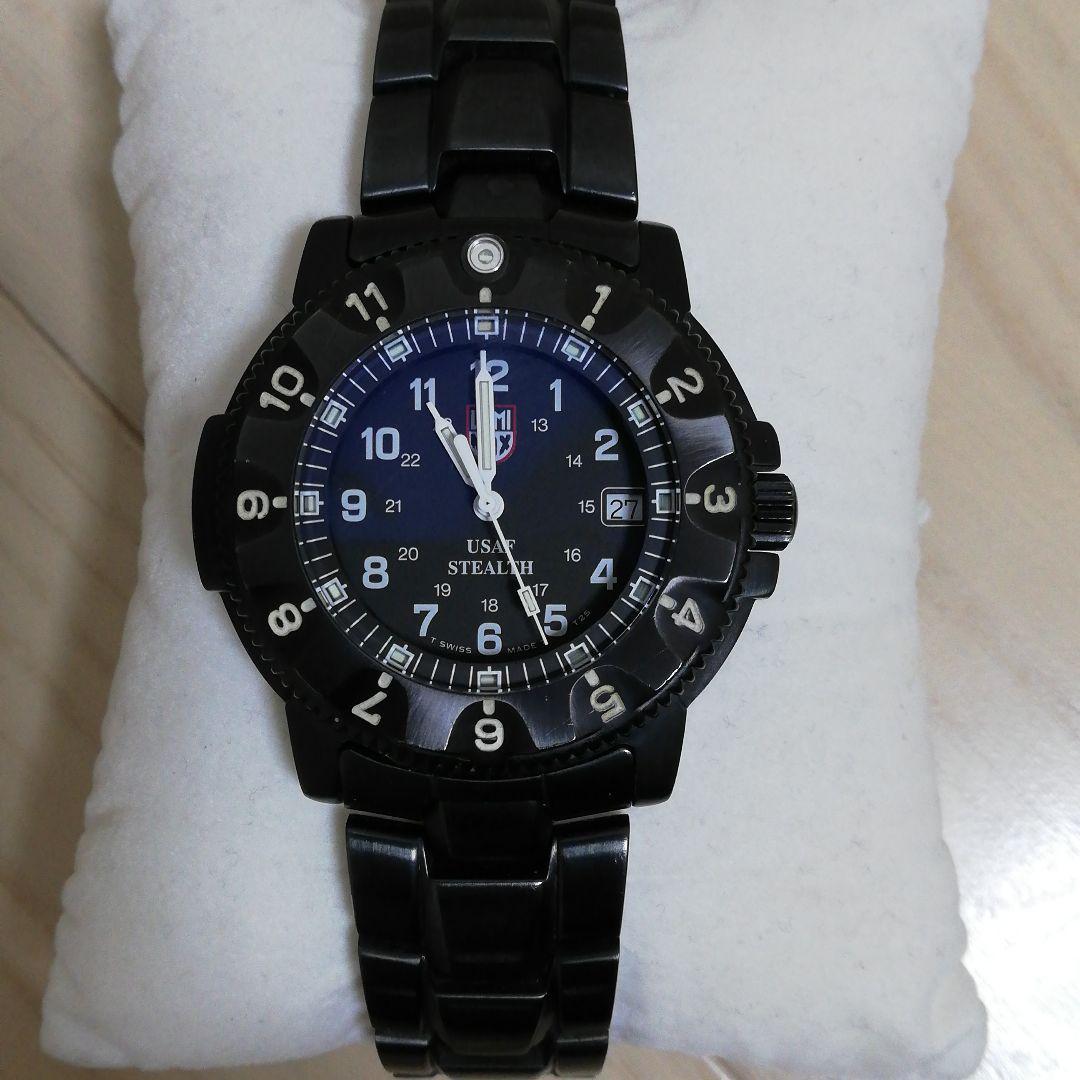 a148546775 メルカリ - LUMINOX ルミノックス 3400 F-117 ステルス T25表記 【腕時計 ...