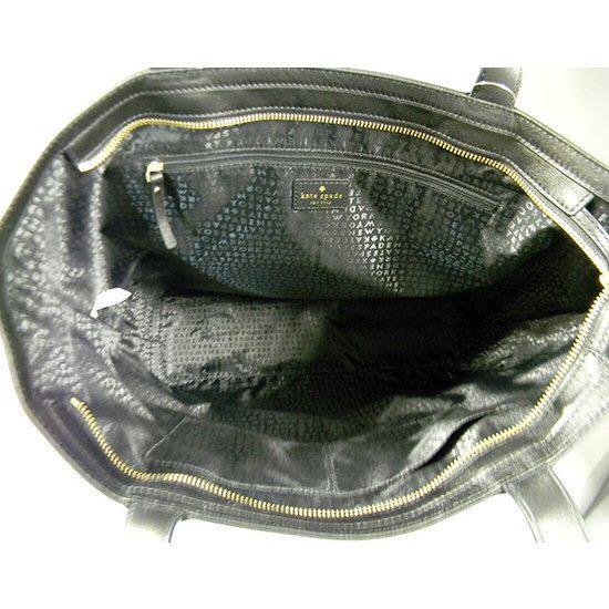 ケイトスペード トートバッグ WKRU3065-001 EXOTIC BLACK