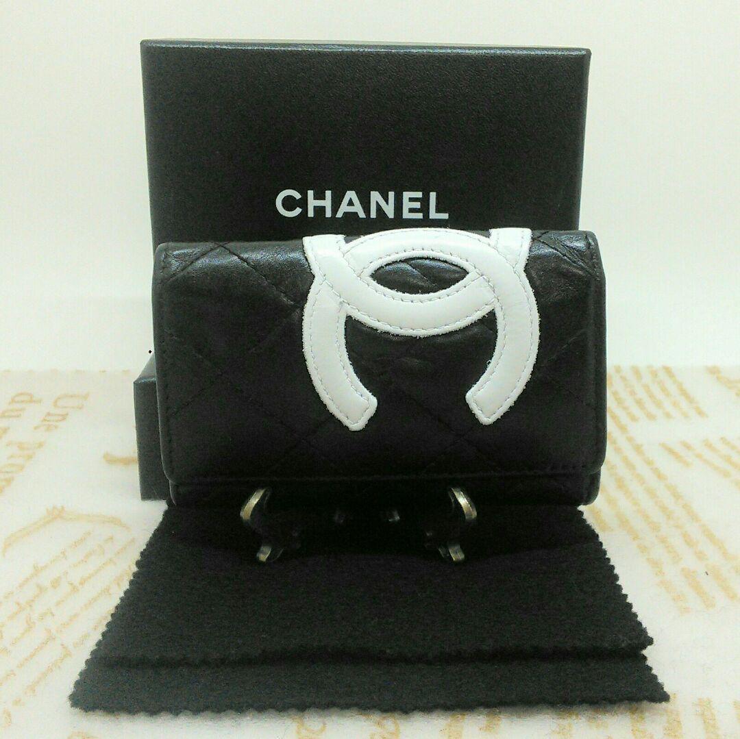 brand new 4e4c3 48cee ⭐正規品⭐ CHANEL シャネル カンボンラインキーケース(¥13,500) - メルカリ スマホでかんたん フリマアプリ