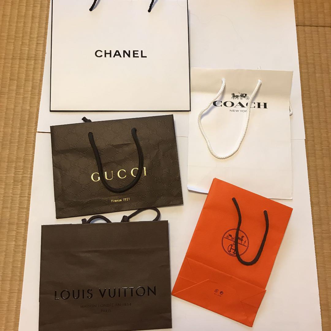 c22b5c51f65e メルカリ - ブランドショップバッグ 袋 ブランド袋 紙袋 シャネル ...