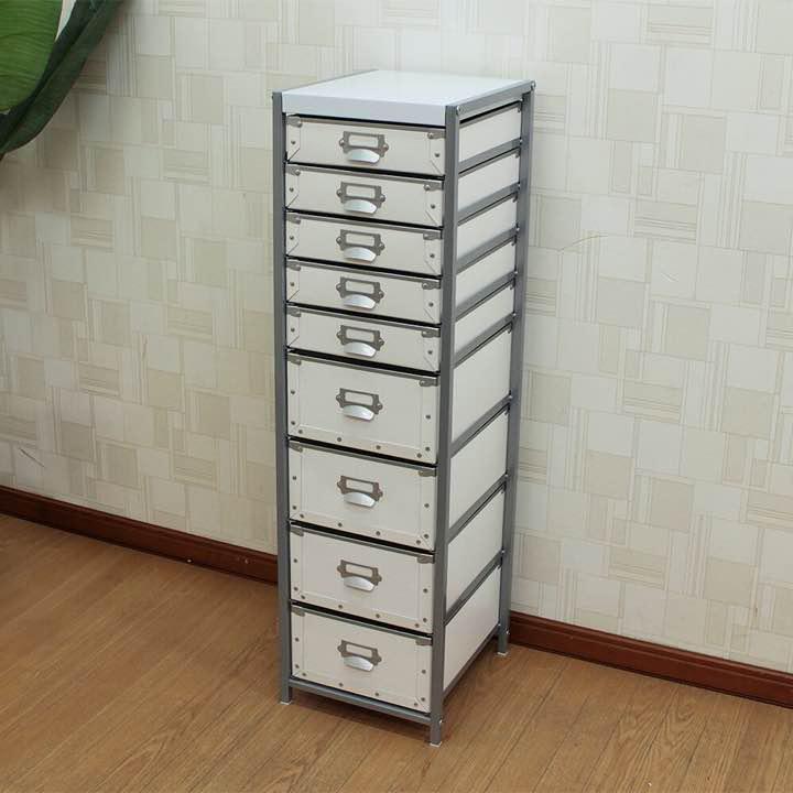 多段チェスト 硬質パルプ9段チェスト リビング 収納棚 書類収納 レターケース(¥7,980) メルカリ スマホでかんたん フリマアプリ