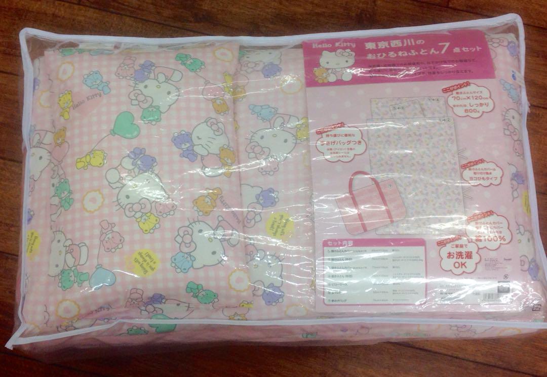 メルカリ 新品サンリオキティちゃんお昼寝布団7点セット保育園ベビー