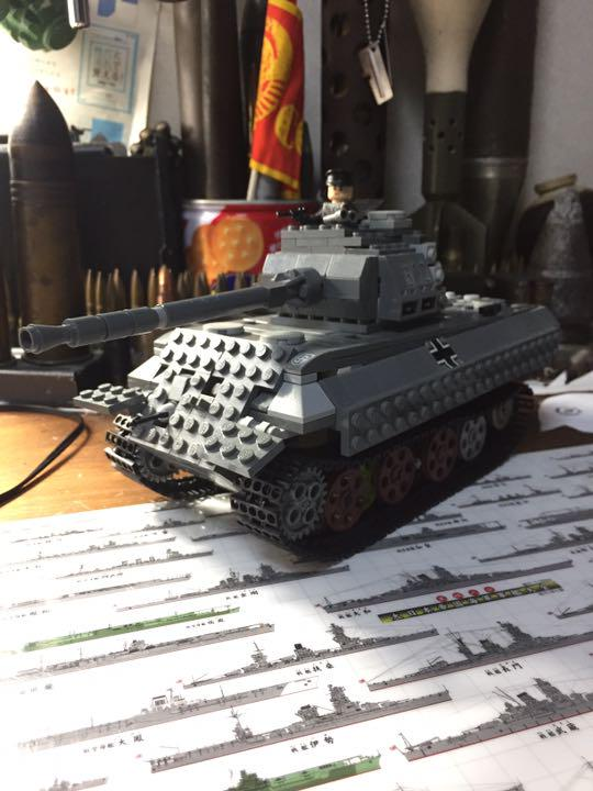 Lego Panther Tank tous genuine parts