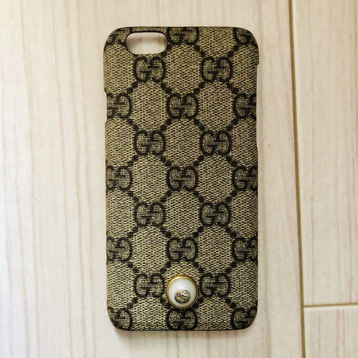 pretty nice f9203 9c250 GUCCI iPhone6 iPhone6S ケース(¥ 16,900) - メルカリ スマホでかんたん フリマアプリ