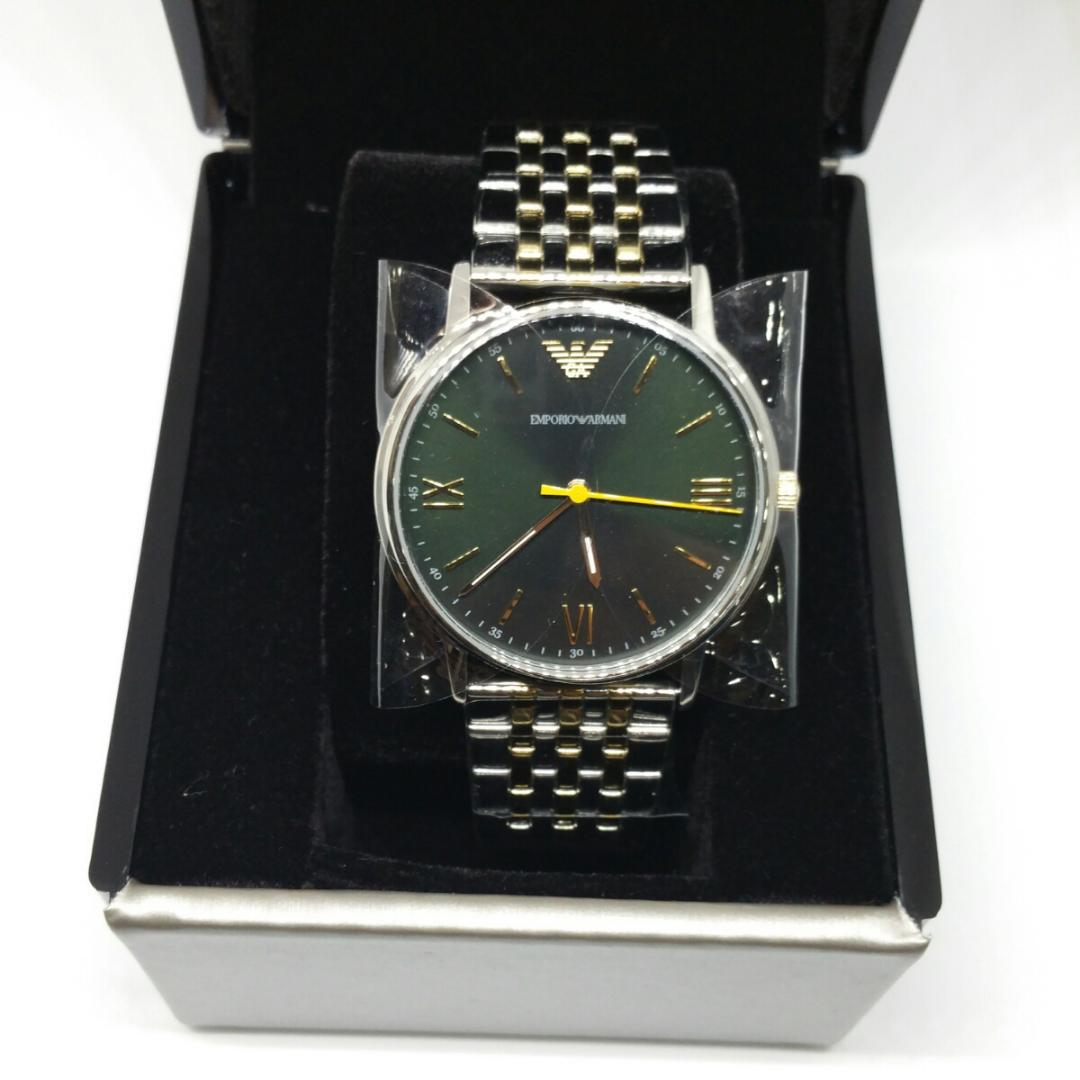 pretty nice eca9a d649f エンポリオ・アルマーニ メンズ腕時計 AR11228 2019年新作 未使用品(¥25,555) - メルカリ スマホでかんたん フリマアプリ