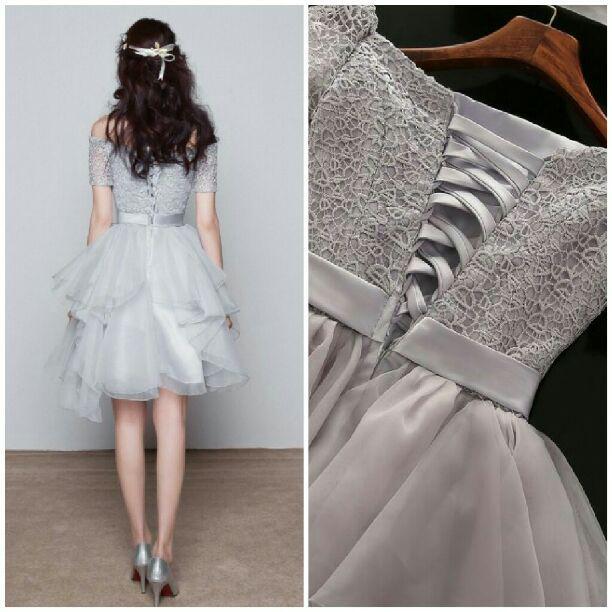 05ad2739f554b メルカリ - XOXO 速達 S ミニドレス ウエディング 結婚式 ドレス ...
