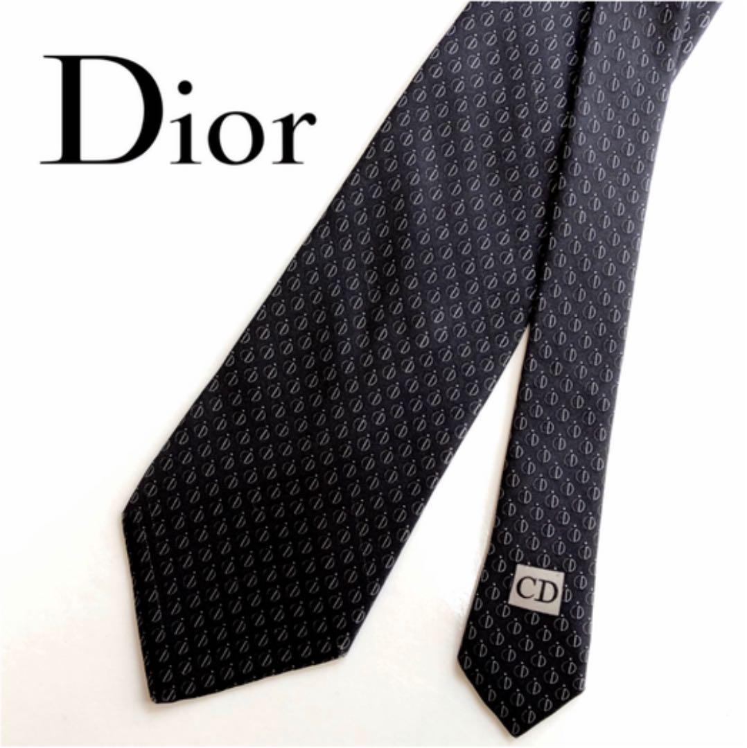 the latest 8e040 2cb74 【美品】Dior CD柄ネクタイ(¥2,300) - メルカリ スマホでかんたん フリマアプリ