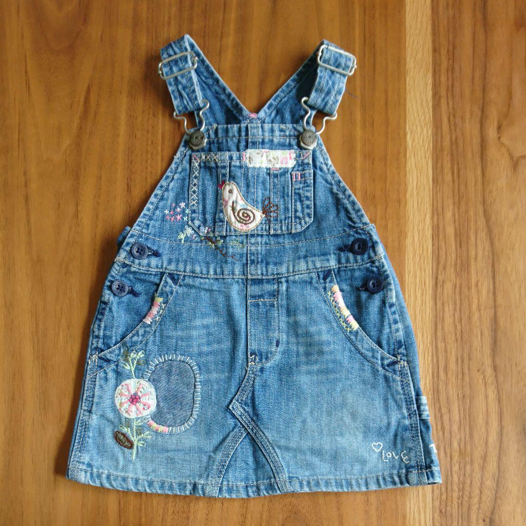 dee3366384b37 メルカリ - babygap ジャンパースカート  ベビーギャップ  (¥1