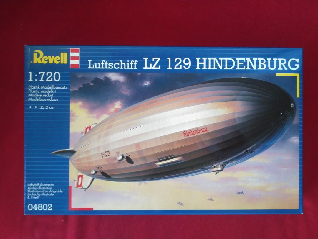 メルカリ - レベル社製 1/720 飛行船 ヒンデンブルグ LZ-129 【模型 ...