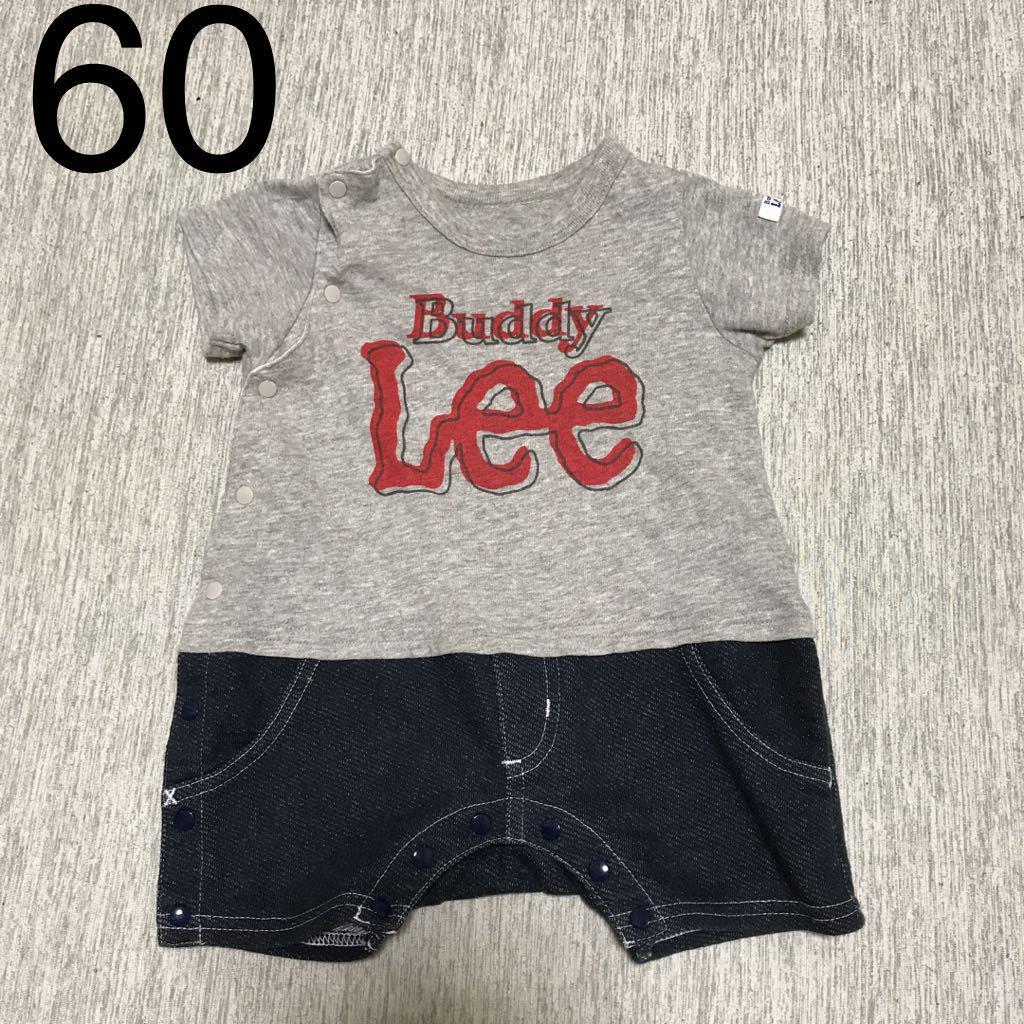 5fe3c57df599e メルカリ - Lee ロンパース 男の子 ベビー服 60サイズ グレー ロゴ ...