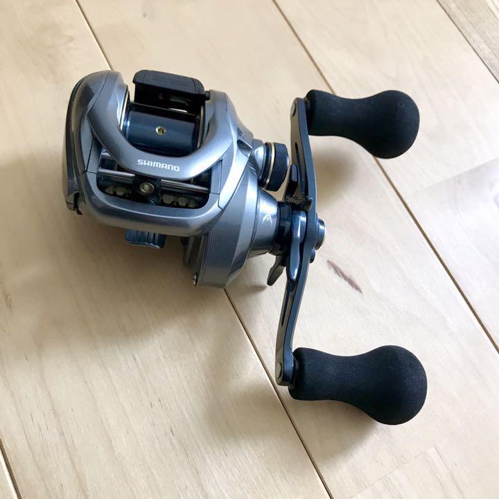 Shimano Bay juego 301 Baitcasting Reel De Pesca Equipo De Manija Izquierda  6.3 215g