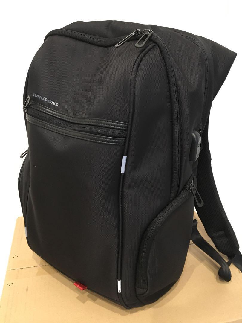 cbf4b890a841 メルカリ - 大容量 ビジネスバックパック リュック 鞄カバン USB PC ...