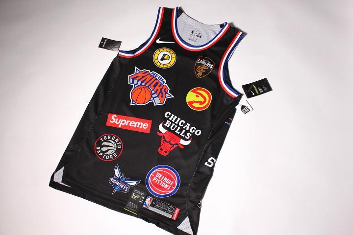 quality design e1d13 4e4e3 18SS Supreme Nike NBA Jersey シュプリーム(¥25,000) - メルカリ スマホでかんたん フリマアプリ