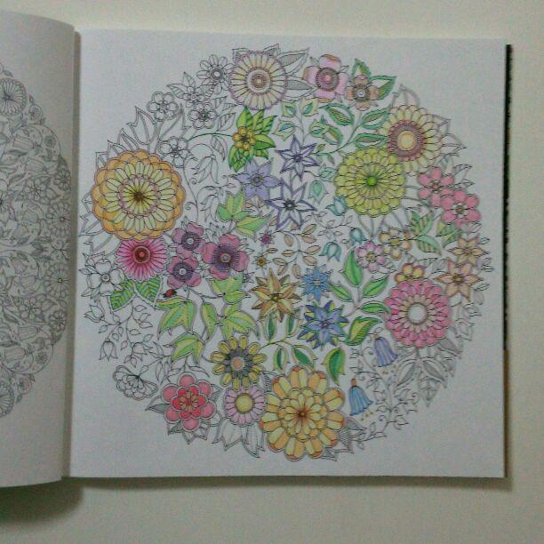 メルカリ 大人の塗り絵 ひみつの花園 ジョハンナバスフォード アート