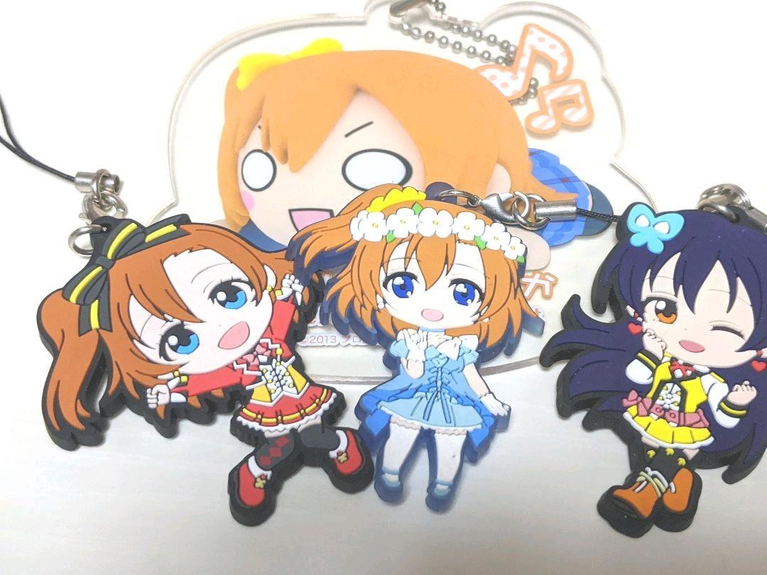 メルカリ ラブライブ 高坂穂乃果 園田海未 ラバスト キャラクター