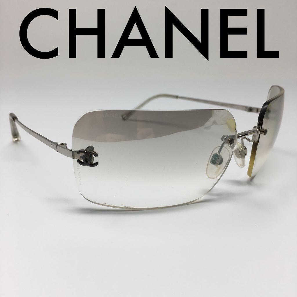 5f823839f425 メルカリ - CHANEL シャネル サングラス ココマーク 正規品 メンズ ...