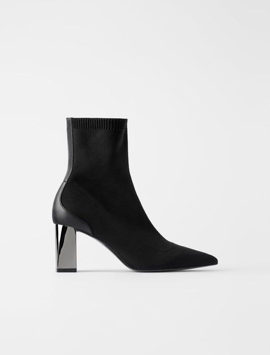 ブーツ Zara ソックス