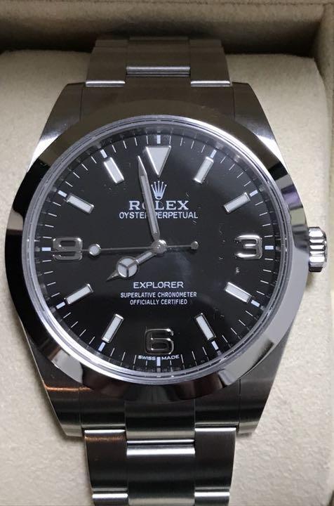c5d892a119 メルカリ - とも エクスプローラー1 214270ブラックアウト 【腕時計 ...